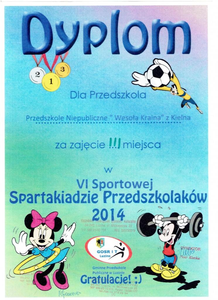 spartakiada przedszkolaka2014